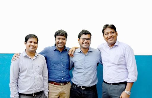 The four of us - Abhishek, I, Kushal and Sumit