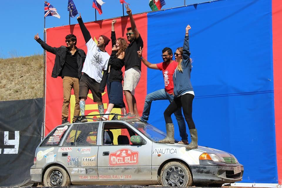 A drive around the world - when Giftxoxo sponsored the longest car drive of the world from London to Mongolia
