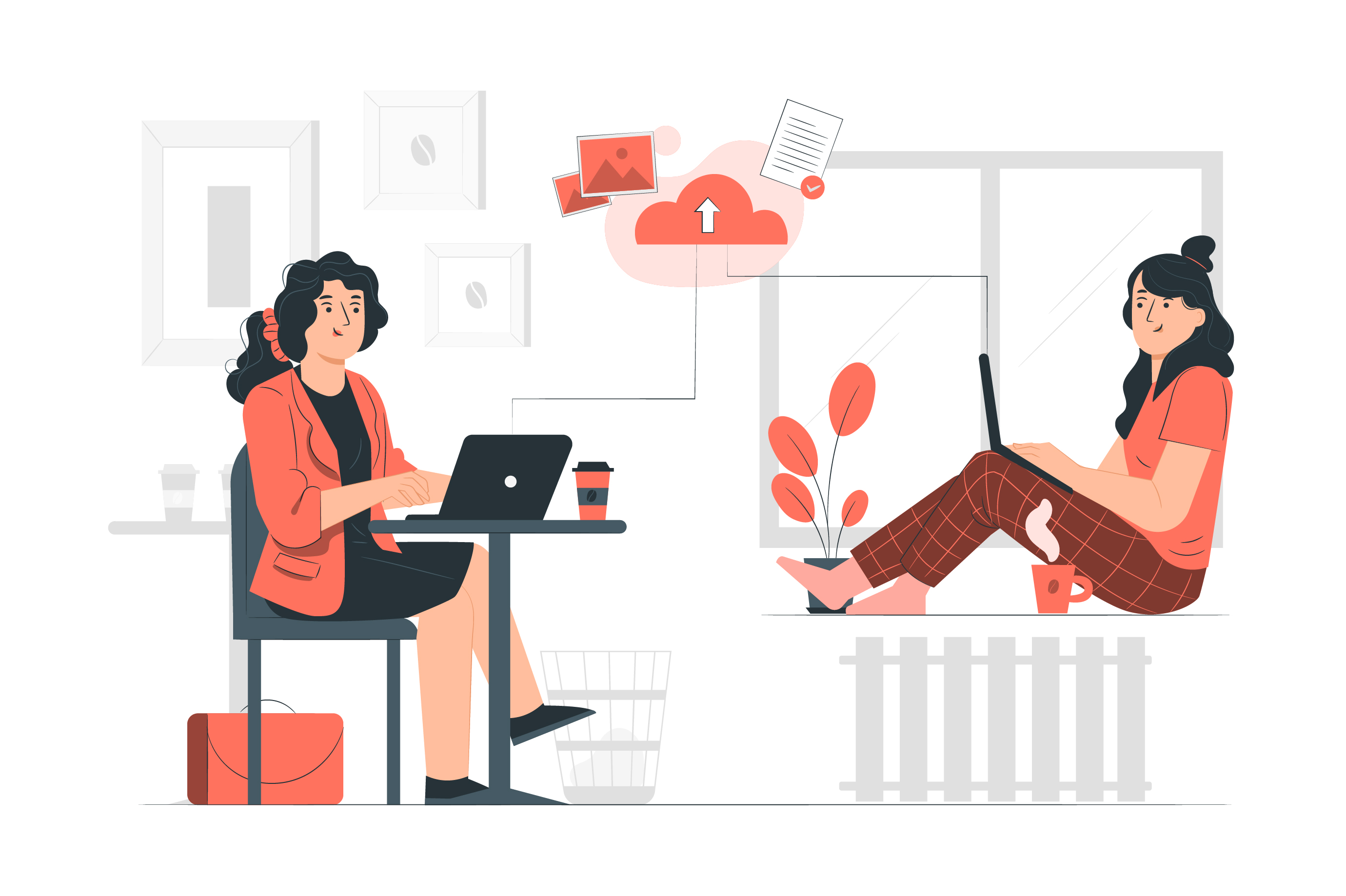Work from home increases productivity because there are fewer distractions