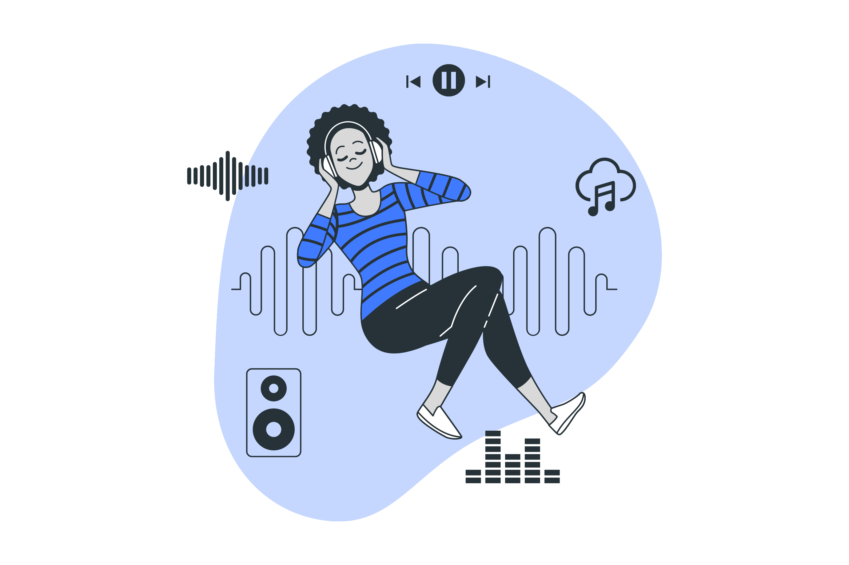 Free OTT-Music Streaming Service for remote employees