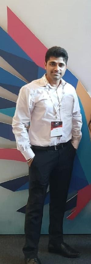 Ayush Arora, Senior Manager, Frontend Sales