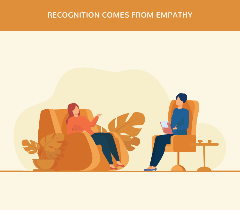 Recognition Comes From Empathy
