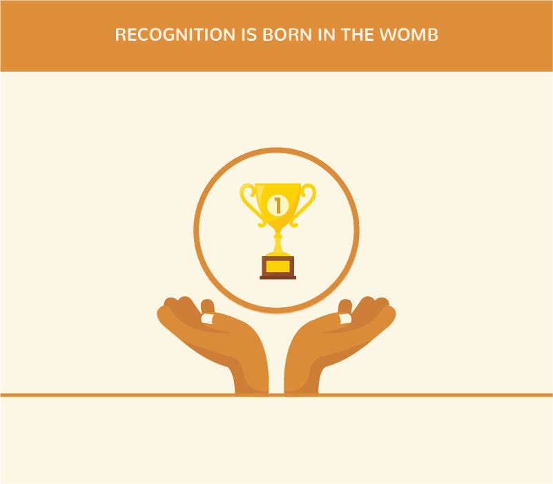 Recognition is Born in the Womb