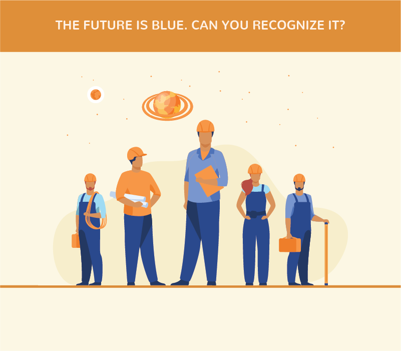TheFuture is Blue. Can you Recognize it?