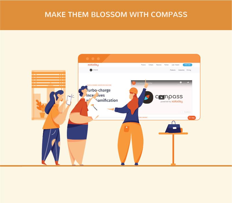 Make them Blossom with COMPASS