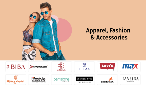 Wardrobe makeover? Why not! Here are some clothing brands for recipients to shop from