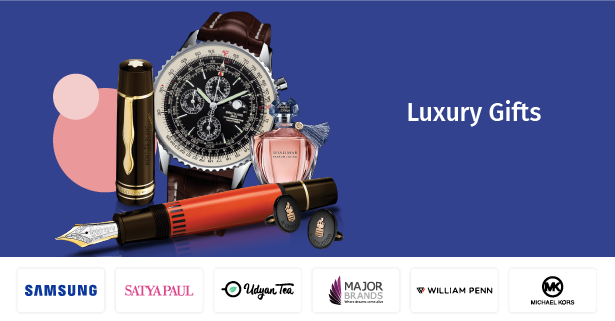 Gift your recipients the joy of luxury gifts with grand options at the Xoxoday Plum Store