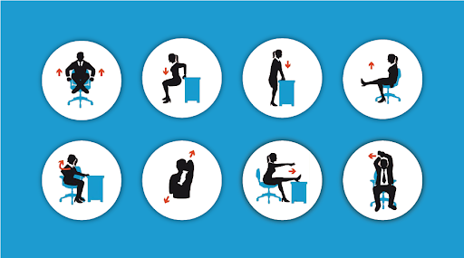 12 Desk Exercises to Keep your Employees Fit