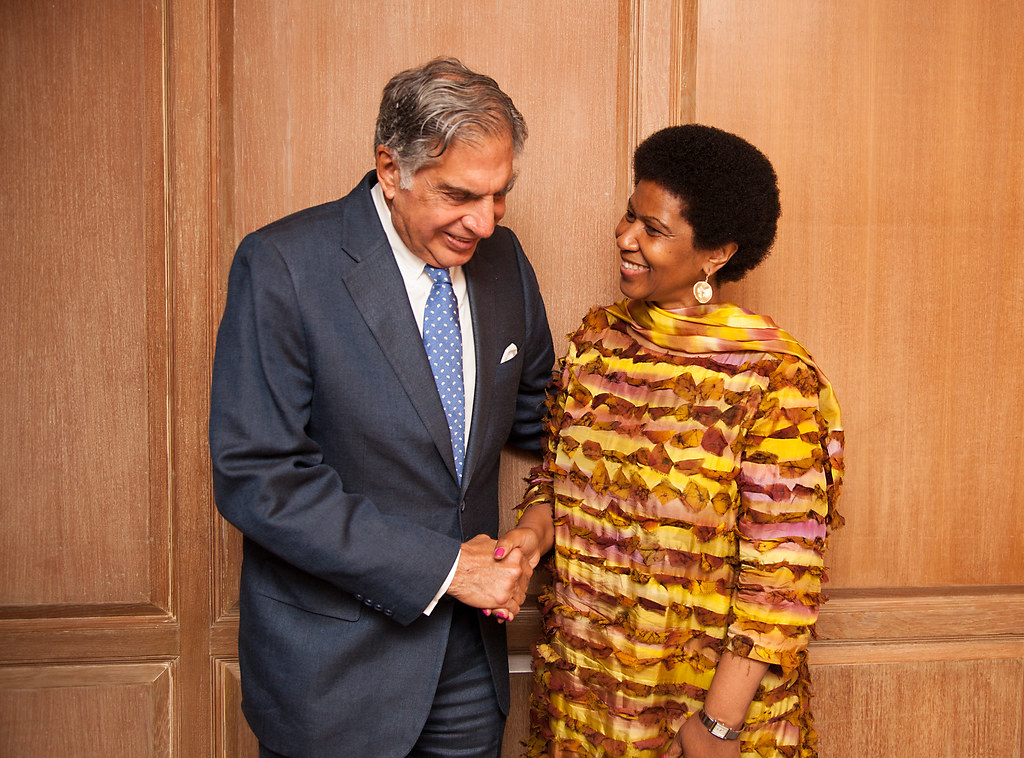 When Ratan Tata met UN Women Executive Director, Mlambo-Ngcuka