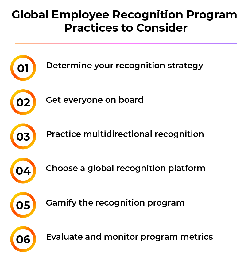Best Practices to Consider When Designing a Global Employee Recognition Program