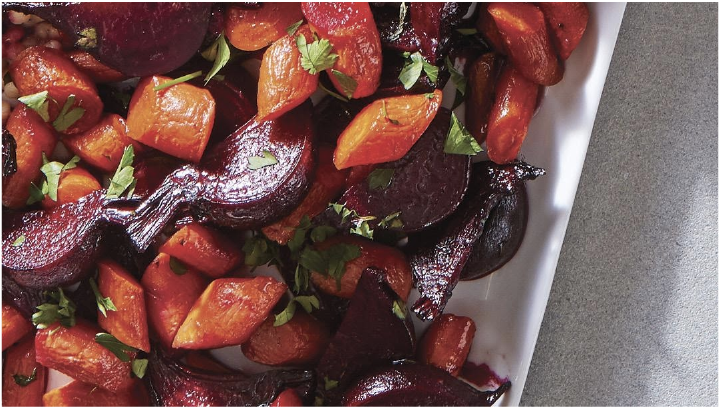 Roasted Beet & Carrot Salad