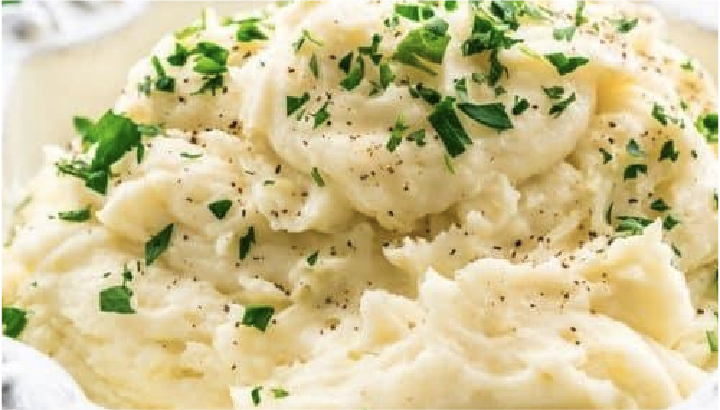 Mashed Potatoes recipe!