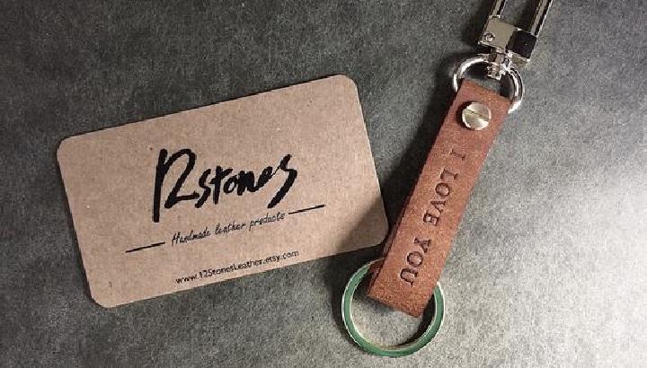 Custom Leather Keychains