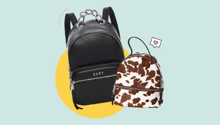 Mini backpack as a secret santa gift for girls