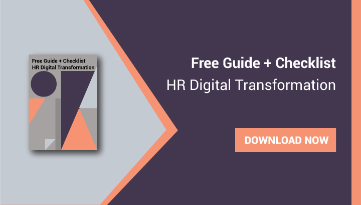 Free Guide + Checklist    HR Digital Transformation