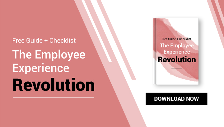 Free Guide + Checklist The Employee Experience Revolution