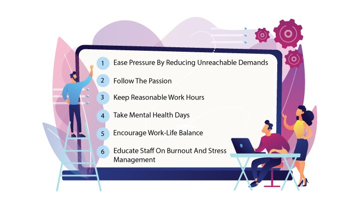 6 Of The Best Ways To Prevent Burnout at Work