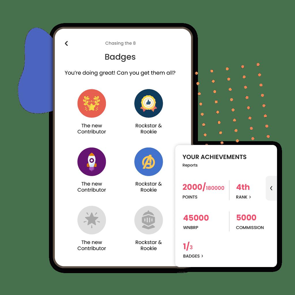 3. Complete Milestones & Collect Badges-8