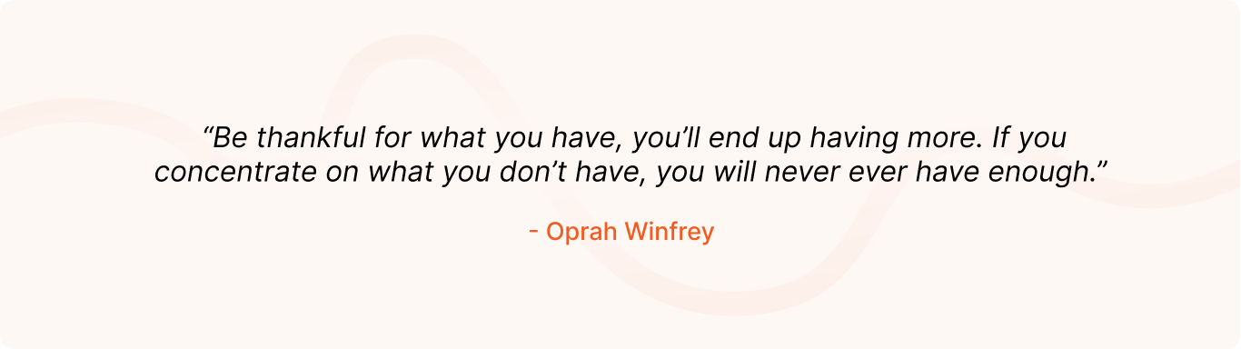 Positive Quote by Oprah Winfrey