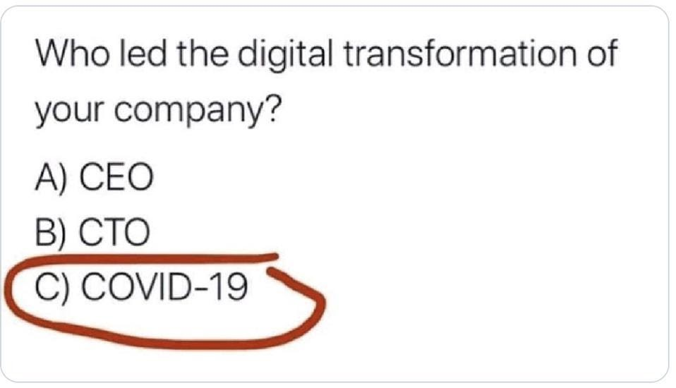 Is COVID-19 Forcing Your Digital Transformation? 12 Steps To Move Faster