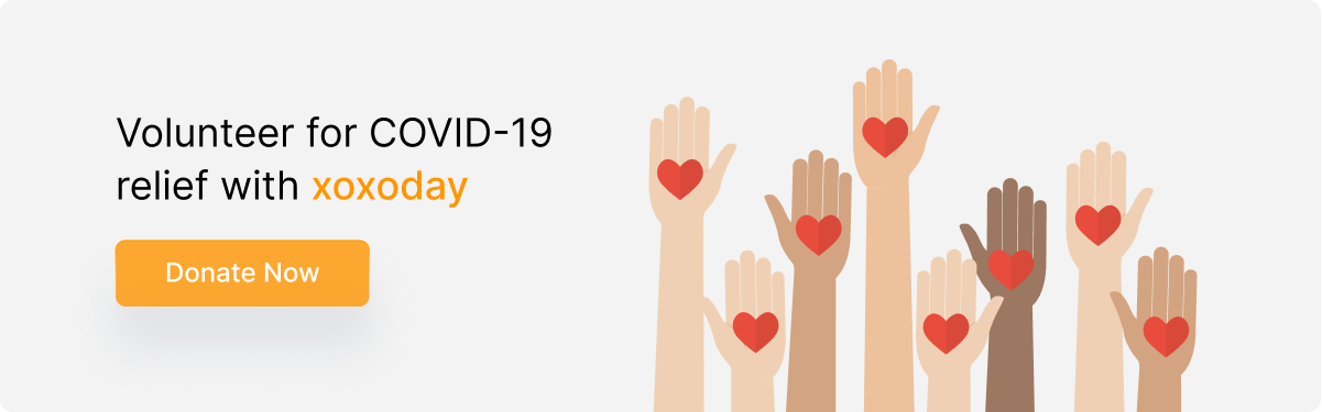 Volunteer for Covid-19 Relief with xoxoday