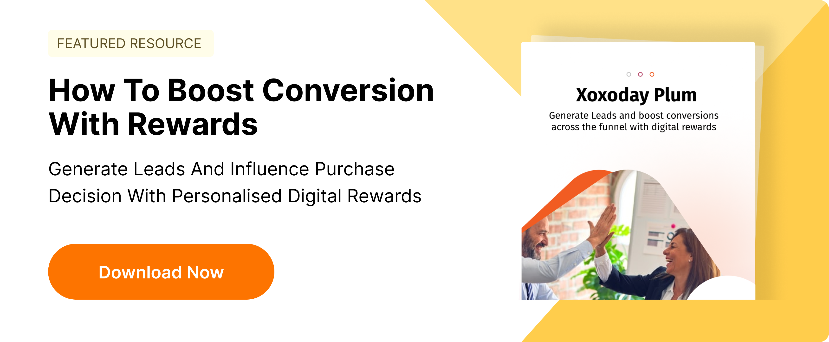 Boost Conversion with rewards