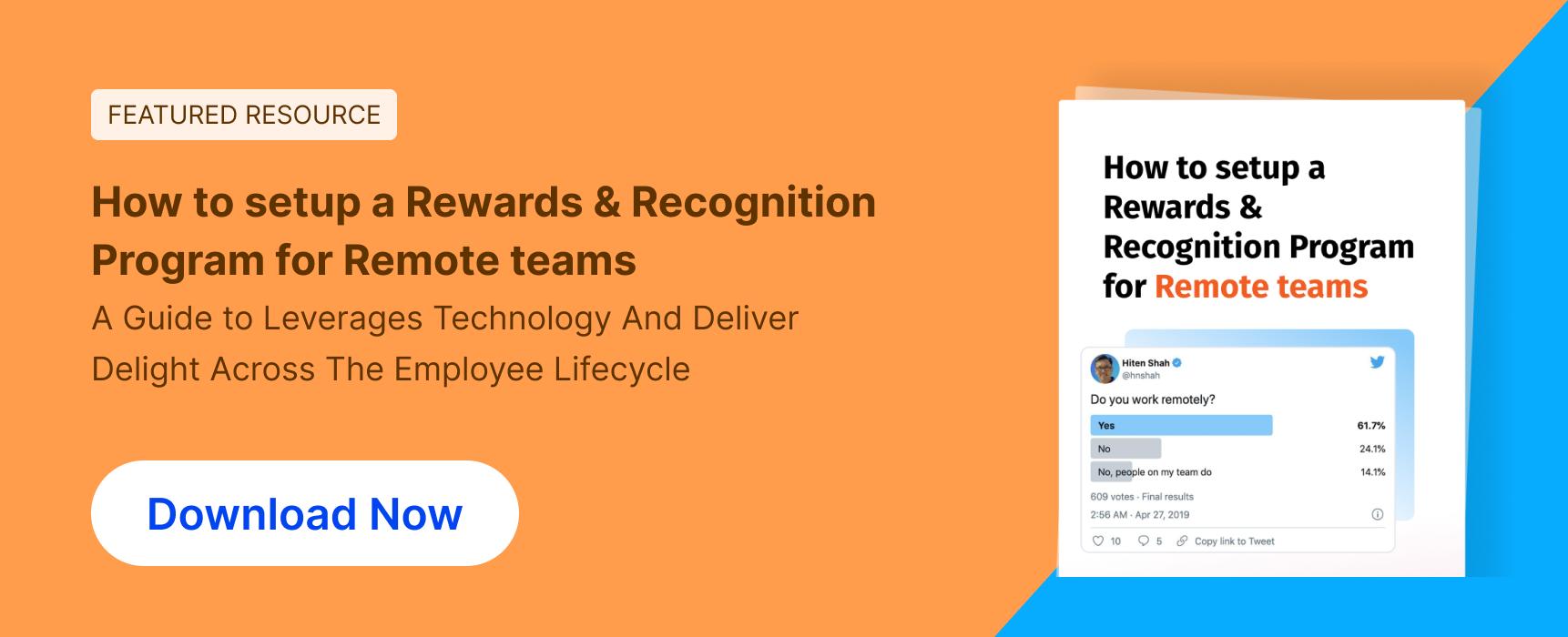 Rewards & Recognition Program