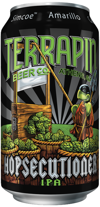 TERRAPIN Athens Hopsecutioner Can STICKER decal craft beer brewing brewery
