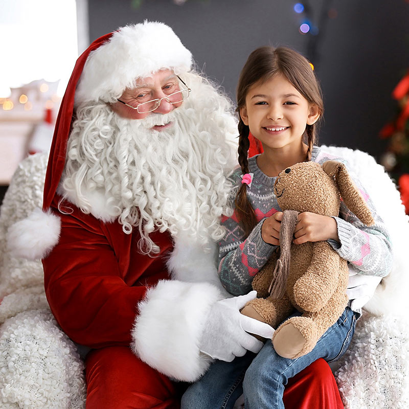 It's Christmas at Keilor Central - Santa Photography