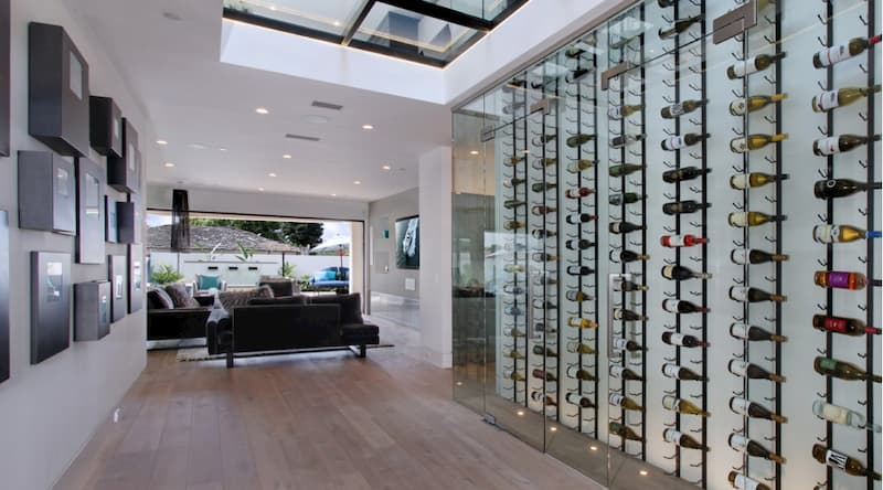 Image result for Digital climate controls or touch control panels wine cellar