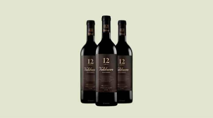 Tempranillo Wine: 1999 Bodegas Valduero 12 Años Gran Reserva, Ribera del Duero, Spain