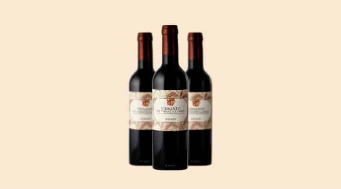 Sweet white wine: 2007 Fontodi Vin Santo del Chianti Classico, Tuscany (Italy)