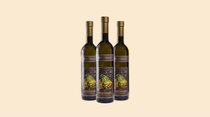 Sweet white wine: King Frosch 'Noble Sweet' Chardonnay Spatlese (Germany)