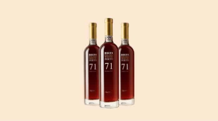 Sweet white wine: 1971 C. da Silva Dalva Golden Colheita White Port (Portugal)