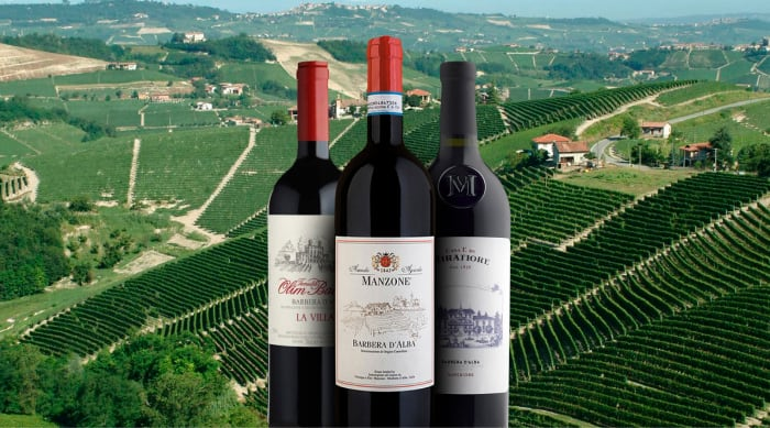 Where are sweet red wines made?
