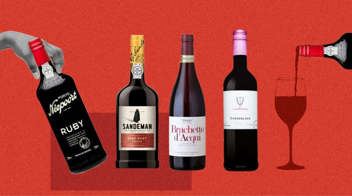 How to buy sweet red wine