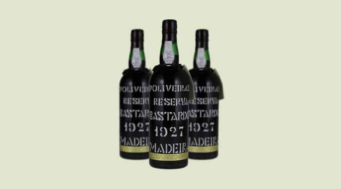 Sweet red wine: D'Oliveiras Bastardo Reserva