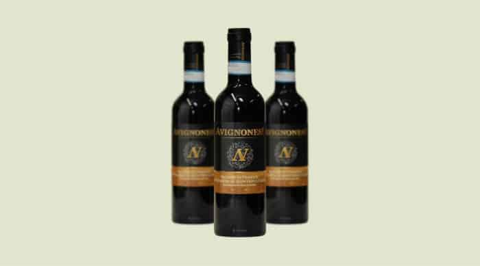 Sweet red wine: Avignonesi Occhio di Pernice Vin Santo di Montepulciano