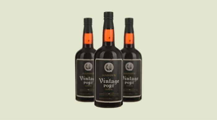 Sweet red wine: Thomas Hardys & Sons Vintage Port
