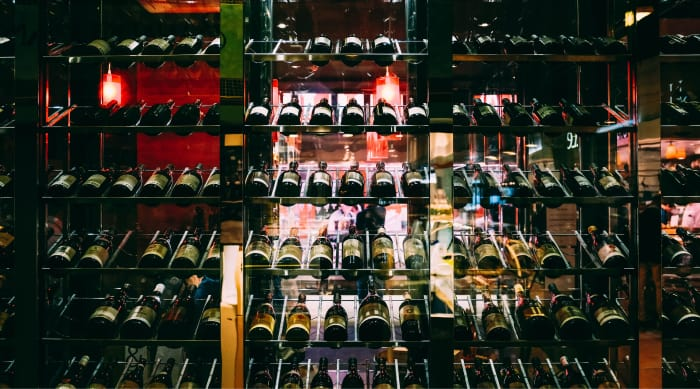 How many wine glasses in a bottle of wine: Bottle collection