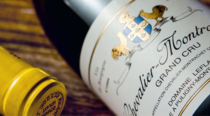 White Burgundy wine: Chevalier-Montrachet, Grand Cru,