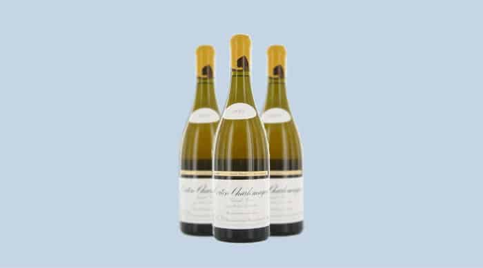 White Burgundy wine: Domaine Leroy Corton-Charlemagne Grand Cru, Cote de Beaune 2015