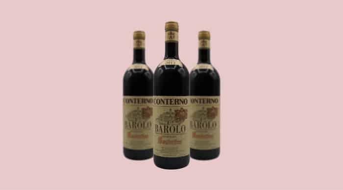 Italian Red Wine: 2013 Giacomo Conterno Barolo Riserva DOCG