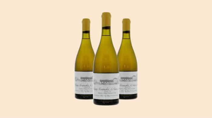Chardonnay wine: 2011 Leroy Domaine d'Auvenay Les Folatières (France)