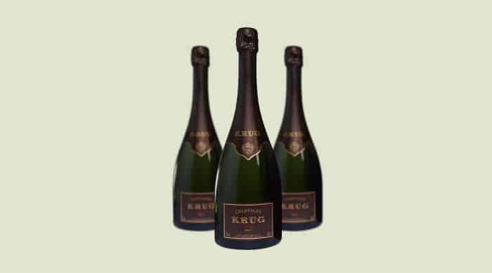 sparkling wine: Krug Vintage Brut Champagne 2006