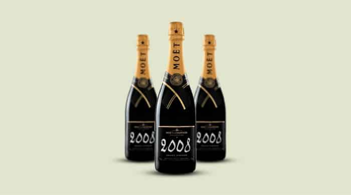 sparkling wine: Moët & Chandon 2008 Grand Vintage Brut