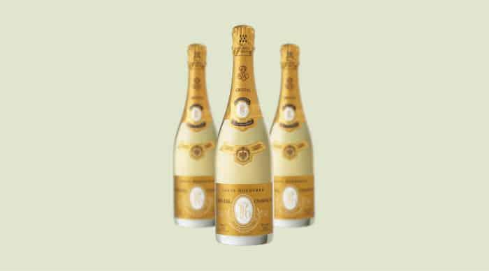 sparkling wine: Roederer Estate Cristal Brut 2008
