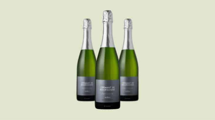 sparkling wine: Vignobles Bulliat NV Brut Nature Crémant de Bourgogne 2014