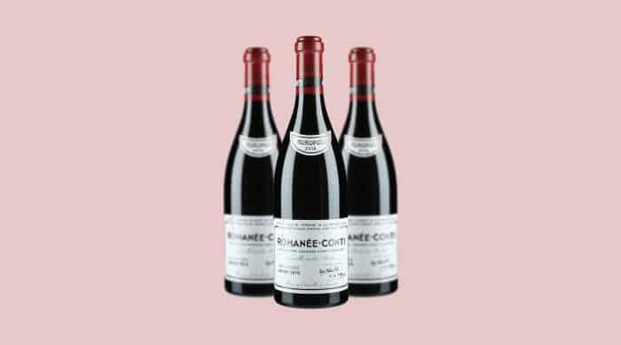 Red wine: DRC Romanee Conti 2015 (France)