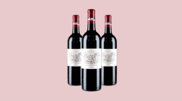 Red wine: Château Lafite Rothschild, Pauillac 2018 (France)